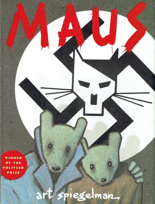 34 Art Spiegelman, Maus, 1973-1991, front cover